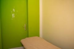 Kabine grün